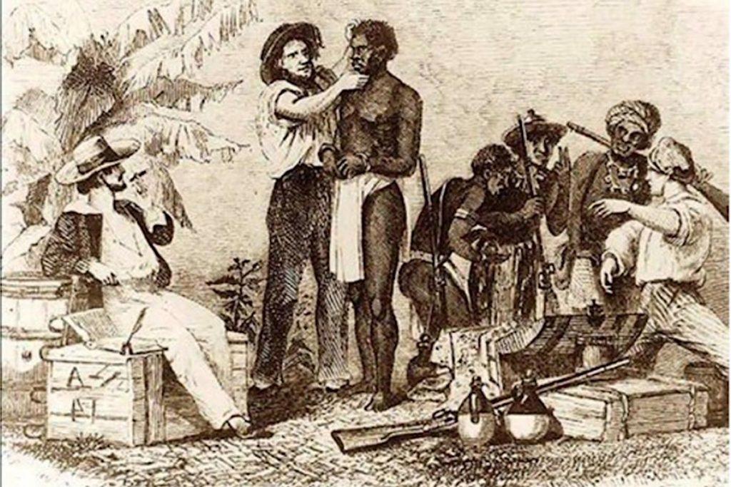 Sklaven in Nicoya