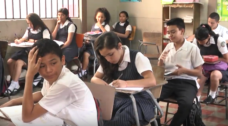 Schulbeginn Costa Rica