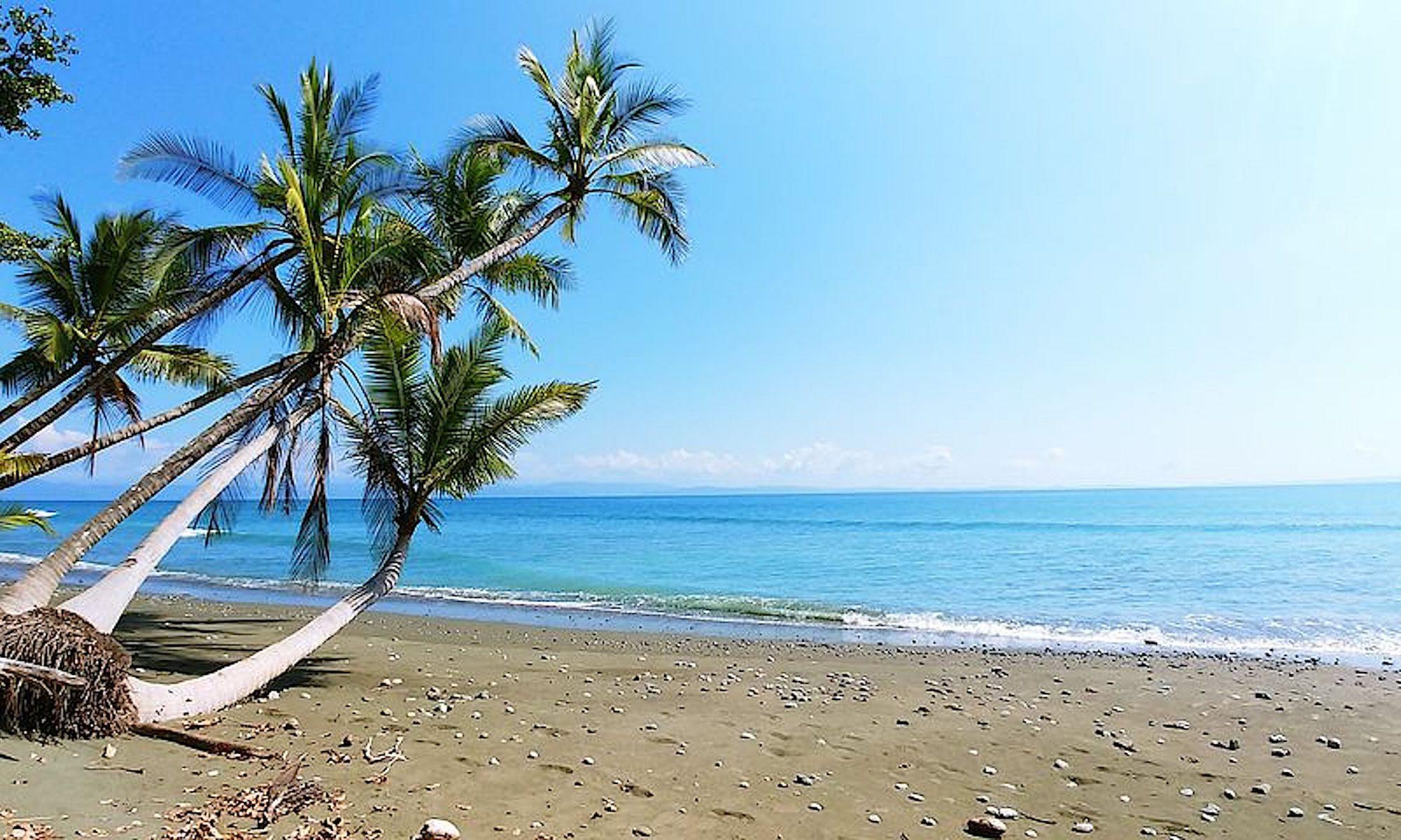 Naturbelassener Strand Costa Rica